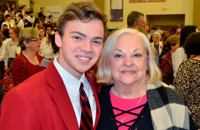 Students Welcome Grandparents to AHHS