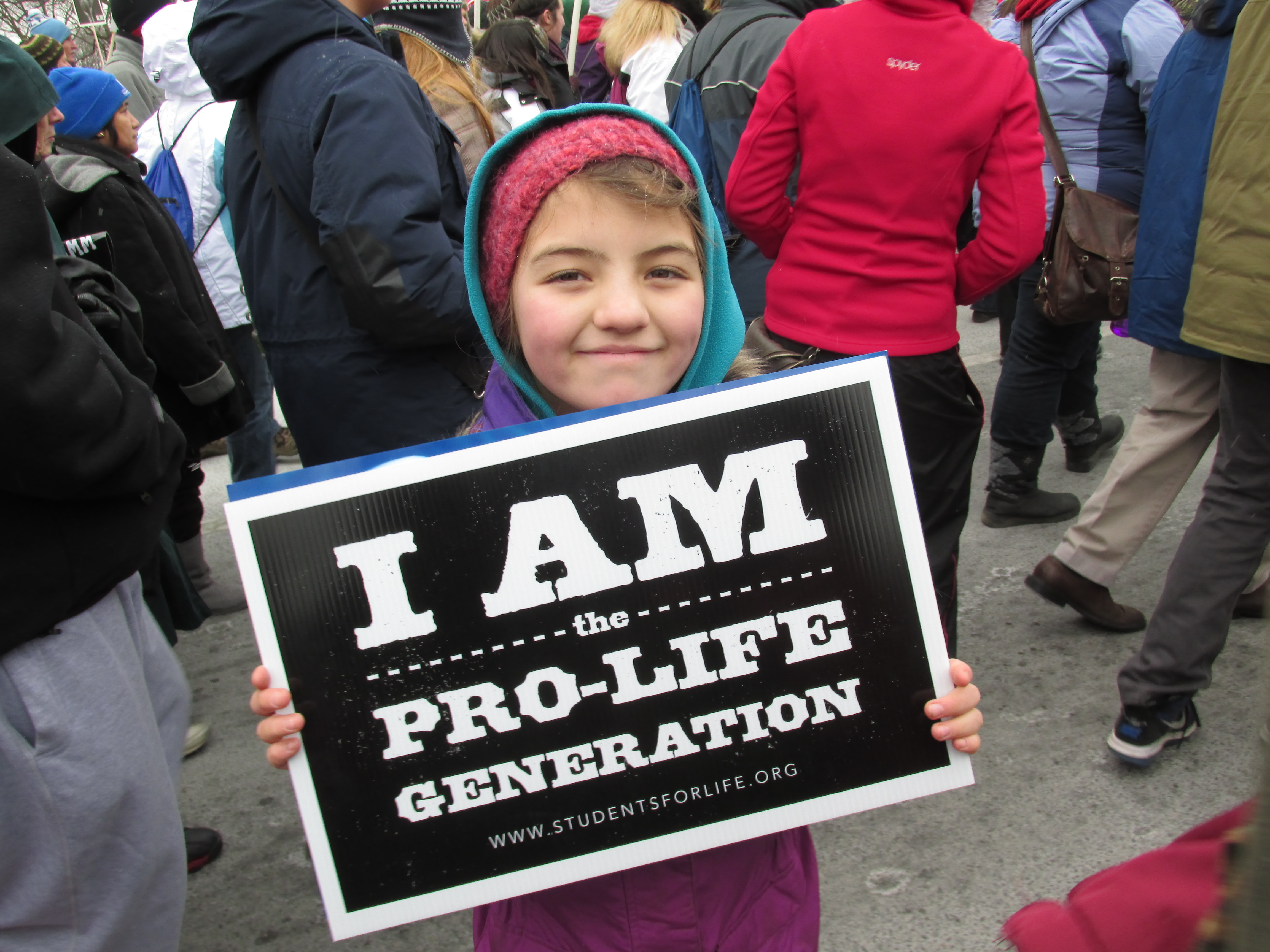WATCH: Archbishop Hannan students participate in the March for Life